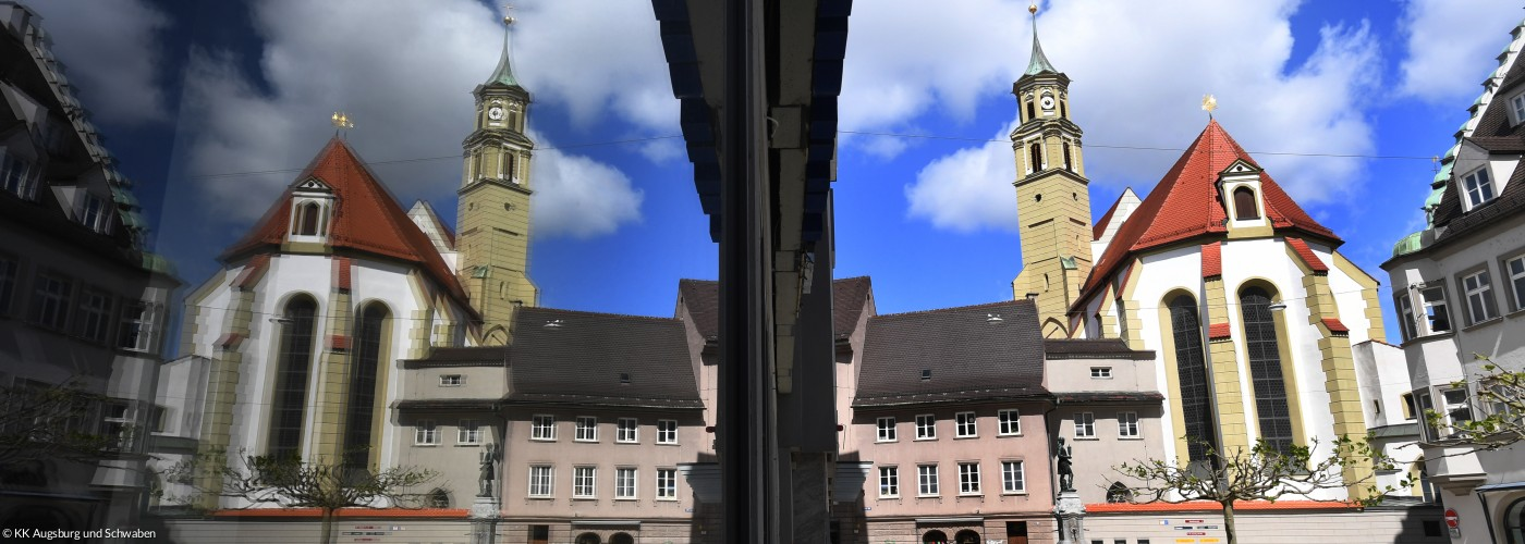 St. Anna - Augsburg mit Spiegelung