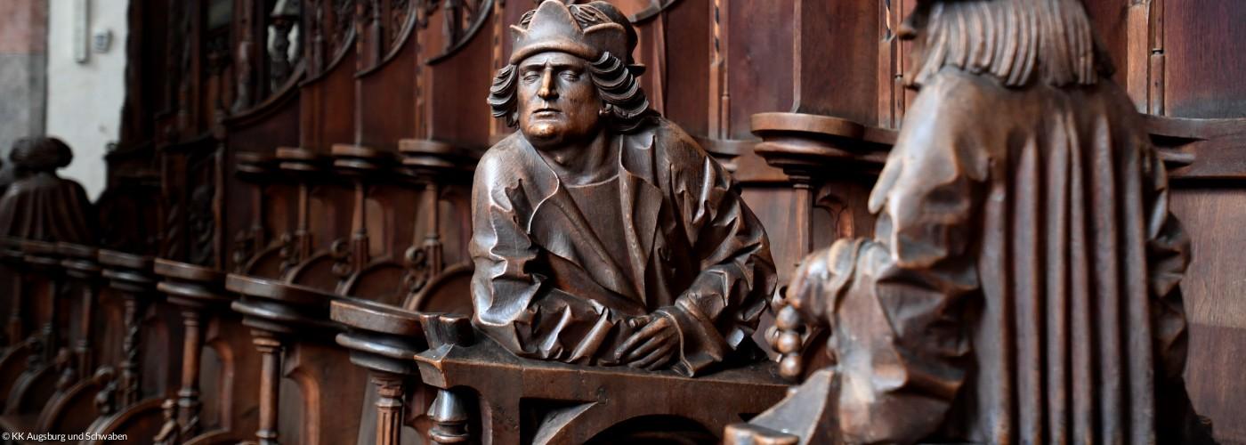 Figuren im Gespräch - St. Martin Memmingen